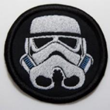 """Stormtrooper (TK) helmet patch, 3"""""""