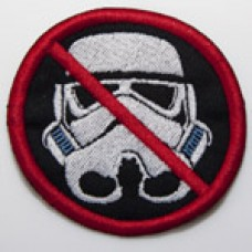 Anit-Stormtrooper patch, 3""