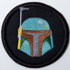 Boba Fett helmet patch, 3""