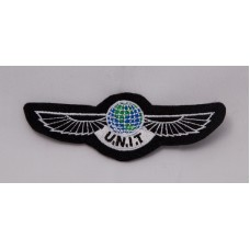 """U.N.I.T wings patch, 4"""" colour"""