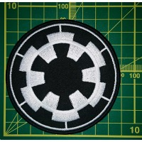 Imperial cog uniform patch